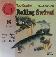 Вертлюг Rolling Swivel (impressed)