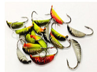 Мормышка 221025 малек/покраска, вольфрам