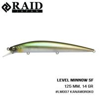 Raid Level Minnow (125mm, 14g)