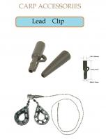 Leаd Clip  5 шт.Х 10  Цвет коричневый (с хвостовиком)