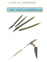 ANTI  TANGLE  SLEEVES (soft) (40 мм) 10 шт. х 10 (зеленый)