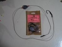 Снасть для ловли сома ( на лидкоре + скользящий груз,крючек 2/0 Корея) 100 г