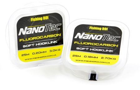 Флюорокарбон Fishing ROI NanoTec 0,35мм 9,3кг 25м