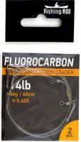 Флюорокарбоновый поводок Fishing ROI d=0,40мм. 10kg 40см