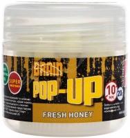 Бойлы BRAIN Pop-Up Fresh Honey (мёд с мятой) 10 мм, 20 г