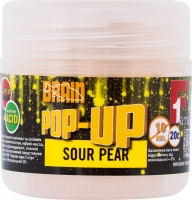Бойлы BRAIN Pop-Up Sour Pear (груша) 10 мм, 20 г