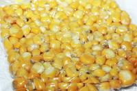 Кукуруза цельная вареная в вакуумной упаковке чеснок