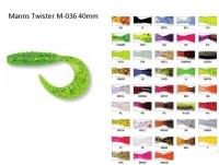 Твистер Manns  M-036 (цвет ассортимент)