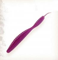 """Червь 3"""" цвет фиолет 01"""