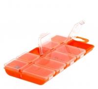 Коробка Fishing ROI 10 ячеек с крышками