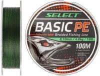 Шнур Select Basic PE 100m (темн-зел.)